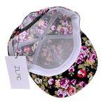 ZLYC femmes 2015 Motif Floral Flatbill Snapback Casquette visière classique de la marque ZLYC image 3 produit