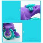 ZZY Enfants Flash Patins Double rangée Réglable Taille Patins à roulettes Quad Bottes Patinage de la marque ZZY image 2 produit